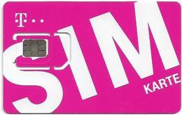 Austria - Orange - Pink SIM Diagonally, GSM SIM6 Mini-Micro-Nano, Mint - Austria