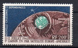 NOUVELLE-CALEDONIE - NEW CALEDONIA - POSTE AERIENNE - TELECOMMUNICATIONS SPATIALES - 200f - 1962 - - Ungebraucht