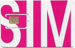 Austria - Orange - Pink SIM Horizontal, GSM SIM5 Mini-Micro, Mint - Austria