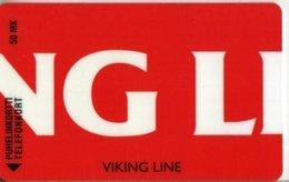 Finlan Phonecard Viking Line 2 ( Voimassa 12/96 ) - Finlandia