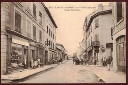 Sainte-Colombe Route Nationale Rue Animée Commerce  * Rhône 69560 * Sainte Colombe Lès Vienne Canton De Mornant - Autres Communes