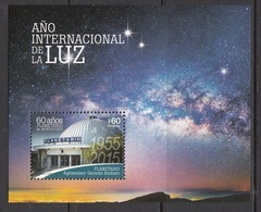 2015 Uruguay Planetarium Space Astronomy  Miniature Sheet Of 1 MNH - Uruguay