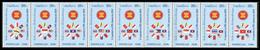 211 - Laos 1998  YT 1311a-19a ; Mi# 1623A-31A **  MNH  ASEAN - Laos