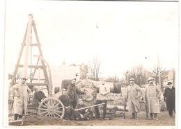 Photo 1914 1918 Parc D'artillerie De St Maur - 1914-18