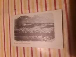 Cartolina Postale, Postcard, 1900, Gruss Aus Windischgraz - Slowenien