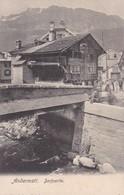 ANDERMATT, DORFPARTIE. SUISSE CARTE POSTALE CIRCA 1900's NON CIRCULEE -LILHU - UR Uri