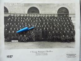 6è Groupe Autonome D'Artillerie Saint-Cloud En 1937 - Guerre, Militaire