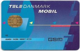 Denmark - Tele Danmark Mobil - Old GSM SIM FULL ISO (Type #4), Used - Dinamarca