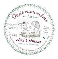 ETIQUETTE De FROMAGE..Petit CAMEMBERT Fabriqué En NORMANDIE..Chez Clément..Fromagerie GILLOT à St HILAIRE De BRIOUZE (61 - Cheese