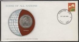 0123 - Numiscover / Enveloppe Numismatique - AUSTRALIE - 50 Cents 1978 - Australie