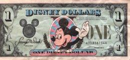 USA 1 Disney Dollar (1987A) - First Issue - Very Fine - USA