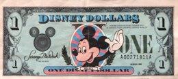 USA 1 Disney Dollar (1988) - First Issue - Very Fine - USA