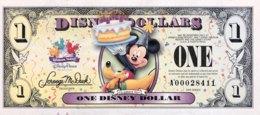 USA 1 Disney Dollar (2009) - Serie A - UNC - USA