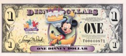 USA 1 Disney Dollar (2009) - Serie T - UNC - USA