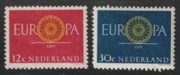 Nederland  1960  NVPH Nr. 745+746      MLH   Europa - 1949-1980 (Juliana)
