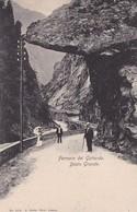 FERROVIA DEL GOTTARDO, DAZIO GRANDE. SUISSE CARTE POSTALE CIRCA 1900's NON CIRCULEE -LILHU - BE Berne