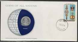 0125 - Numiscover / Enveloppe Numismatique - BAHAMAS - 25 Cents 1979 - Bahamas