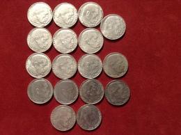 Münzen Silber Lot 17 Münzen 2 Reichsmark Hindenburg, Jaeger 366 - 2 Reichsmark