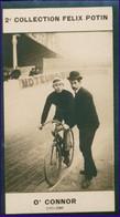 """Le Cycliste, Jokey Et Boxeur , Hardy O'Connor """"Dit Winnie"""" Né à Brooklyn - 2ème Collection Photo Felix POTIN 1908 - Cyclisme"""