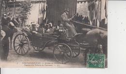 77 FONTAINEBLEAU  -  Arrivée Du Ministre De La Guerre à La Tribune Du Carrousel  - - Fontainebleau