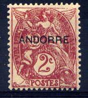 ANDORRE - 3* - TYPE BLANC - Ongebruikt