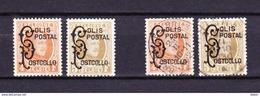 België Kleine Verzameling Spoorwegzegels 1928 Nr 168/69 */G, Zeer Mooi Lot Krt 3827 - Collections (without Album)