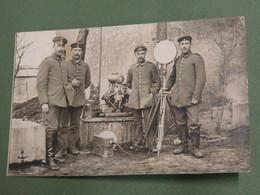 TRES BELLE ET RARE CARTE/PHOTO ALLEMANDE 1GM !!! - 1914-18