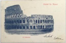V 71117  Roma - Il Colosseo - Saluti Da Roma - Colosseo