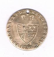 TOKEN   1791  GROOT BRITANNIE /1764// - Groot-Britannië