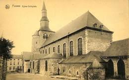 CPA - Belgique - Fosses - Eglise Collégiale - Fosses-la-Ville