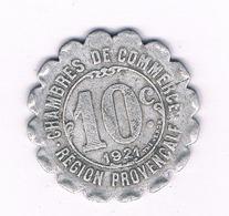 10 CENTIMES 1921 ALAIS MARSEILLE GAP   FRANKRIJK /1770/ - D. 10 Centimes