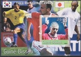 Football - Soccer World Cup 2002 - GUINEA BISSAU - S/S Imp. MNH - Coppa Del Mondo
