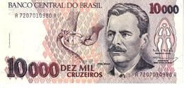 Brazil P.233c  10000 Cruzeiros 1993 Unc - Brésil