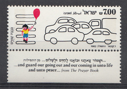 Israel 1982  Mi.nr.:878 Sicherheit Im Strassenverkehr  Neuf Sans Charniere /MNH / Postfris - Israel