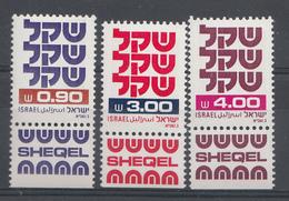 Israel 1981  Mi.Nr: 861-863 Schekel  Neuf Sans Charniere /MNH / Postfris - Israel