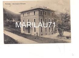 P754 Piemonte PREMENO Verbania Cusio Ossola Villa Compans Marsaglia 1912 Viaggiata - Italie