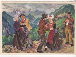 Le Moulinet De La Scottish - Costumes De Maurienne (Fontcouverte Et Valloire) - Trachten