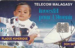 PHONE CARD MADAGASCAR (E59.19.3 - Madagascar