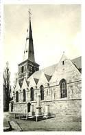 CPA - Belgique - Nalinnes - L'Eglise Du Centre Et Le Monument - Ham-sur-Heure-Nalinnes