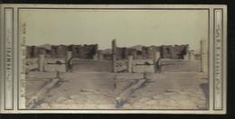 Carte Stereol Entrata Nel  Foro Civile - Pompei