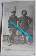 1914 Chambery 53 Eme Bataillon De Chasseurs Alpins Secteur Postal 141  Tranchée Poilu 14 18 WW1 Carte Photo - War, Military