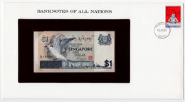 SINGAPORE,1 DOLLAR,1976,P.9,BANKNOTES OF ALL NATION,UNC - Singapore