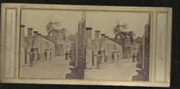 Carte Stereol Pompei Portique Du Gorum Nundinario - Pompei