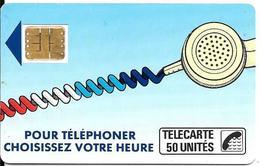 CARTE-PUBLIC-50U-SC3-Ko3Ca-6 Pe104567-Double Frappe-R° Glacé-Utilisé-TBE - France