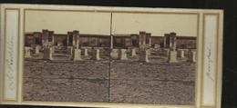 Carte Stereol Pompei Le Pantheon - Pompei