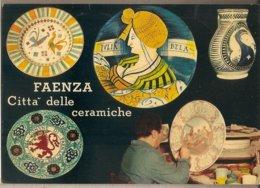 Faenza (RA) - Cartolina Città Delle Ceramiche Con Annullo Speciale: 8° Raduno Filatelico - 1975 - Faenza