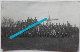 1918 Flandres Flandern 49 Eme Bataillon De Chasseurs à Pieds Fanion Drapeau Tranchée Poilu 14 18 WW1 Carte Photo - War, Military
