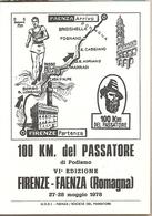 Italia - Cartolina Con Annullo Speciale: 6° 100 Km Del Passatore - Faenza (RA) - 1976 - 6. 1946-.. Repubblica