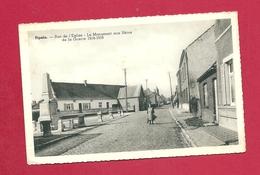 C.P. Pipaix =  Rue  De L' Eglise  : Monument 1914-1918 - Leuze-en-Hainaut