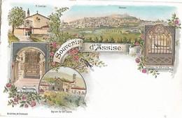 Italie Umbria Souvenir D' ASSISE ....G - Andere Steden